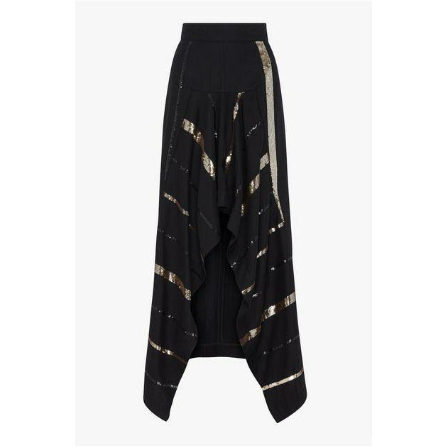 Sass and Bide Perfect Illusion Skirt - Black/Gold