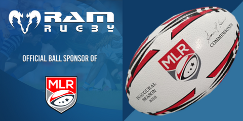 Ram Rugby announced as Official Ball Supplier to Major League Rugby