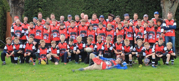 Pulborough RFC Rugby Tour Shirts 2015