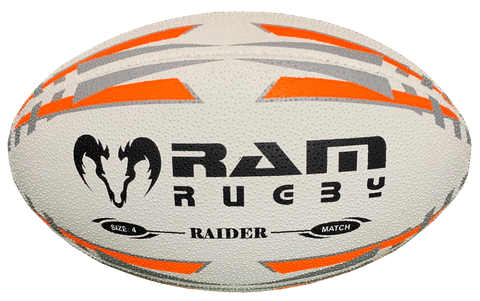 Raider - Match Ball - Fluoro Orange - Size 4