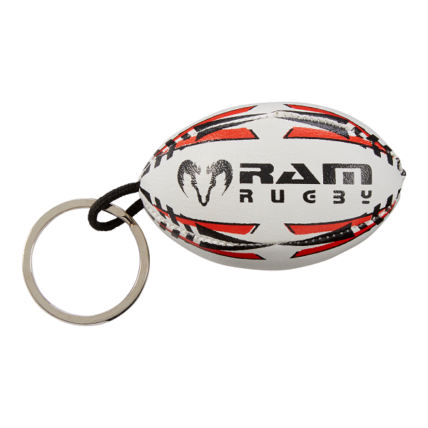 Rugby Ball Key Ring - Softee