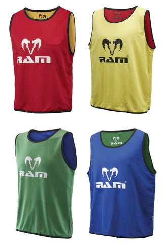 Reversible Training Bibs - Set of 10