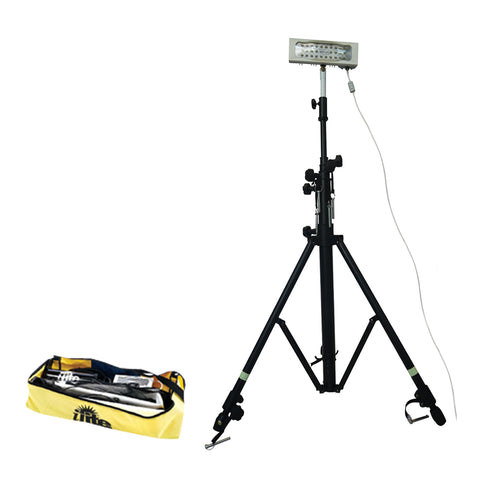 iLite LED Portable Rechargeable Floodlights - Metal