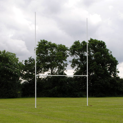 Fixed Rugby Posts - Aluminium - 10m