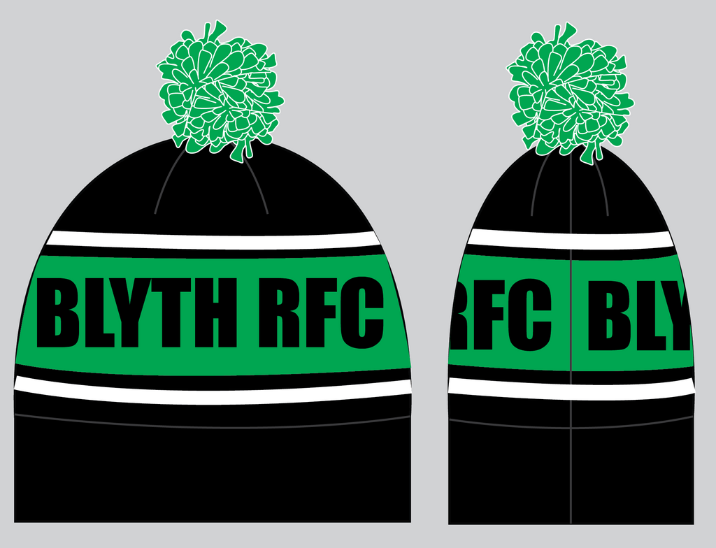 Blyth RFC - Knitted Bobble Hat
