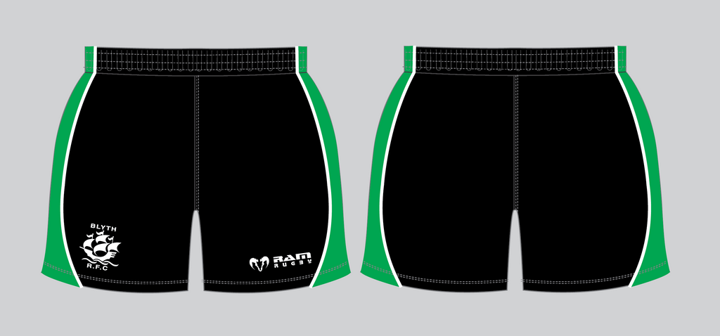 Blyth RFC - Gym Shorts - Stock - Junior