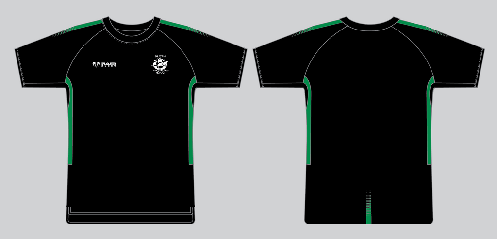 Blyth RFC - Technical T-Shirt - Edge - Stock - Senior