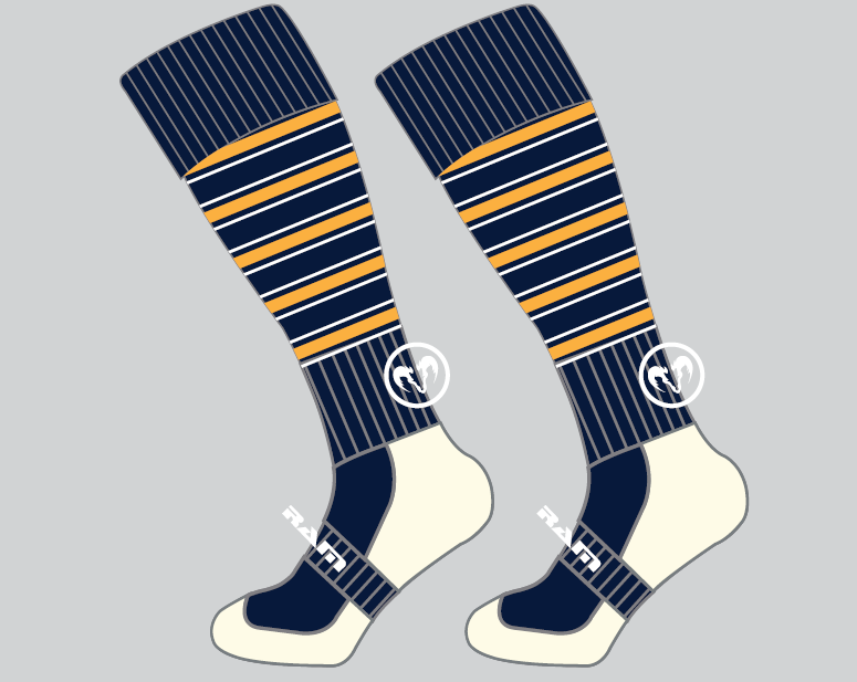 Old Emanuel RFC - 2 x Protec Rugby Socks Juniors