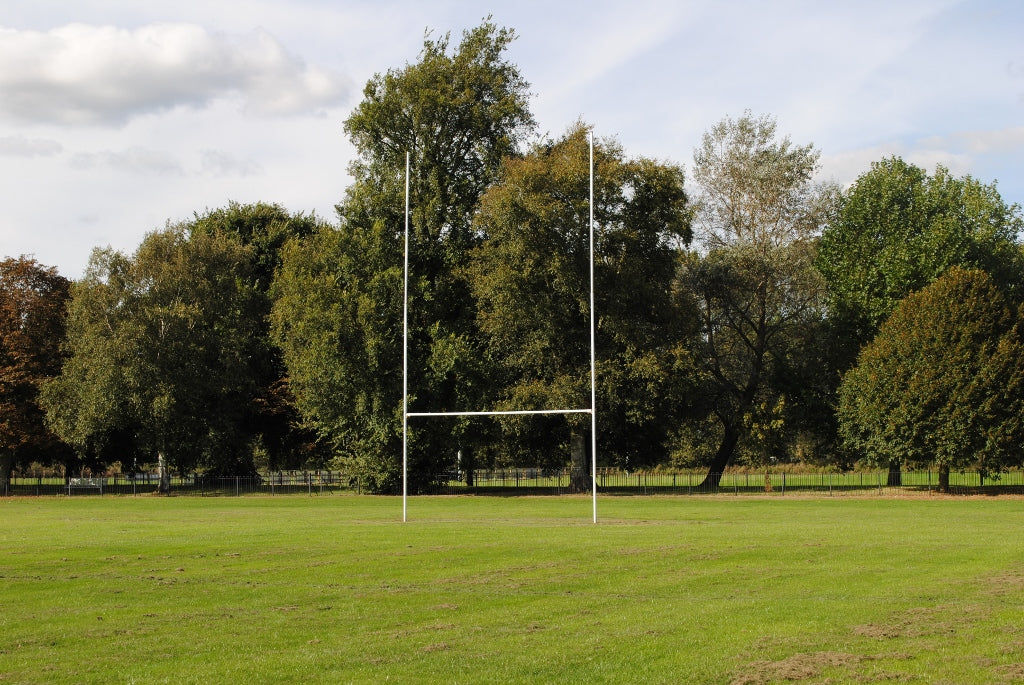 Fixed Rugby Posts - Steel - 12m