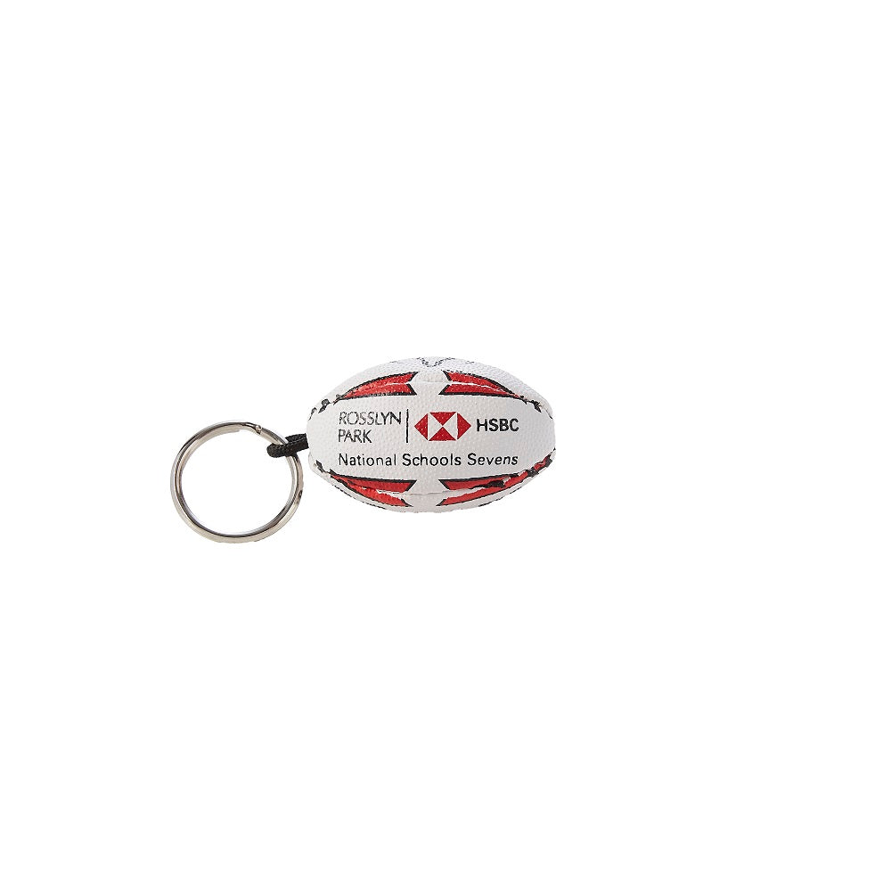 Rosslyn Park 7s - Rugby Ball Key Ring - Rubber - Limited Stock