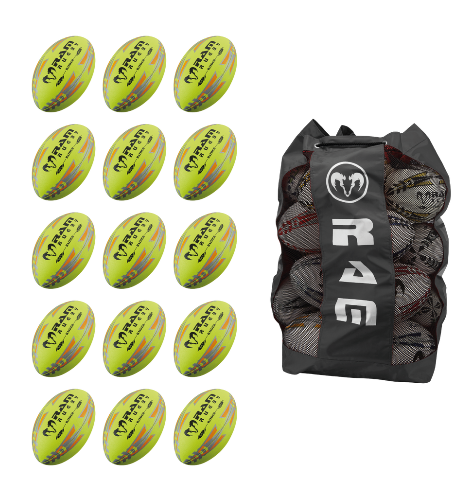Raider - Match - Ball Bundle - Fluoro
