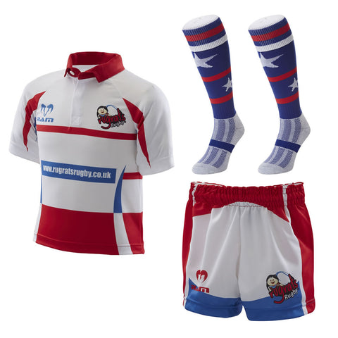 Micro Rugby Playing Kit Bundle