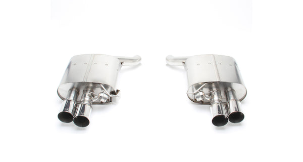 Dinan® Freeflow Stainless Exhaust with Black Tips for BMW F01 750i F02 75iL (N63TU)