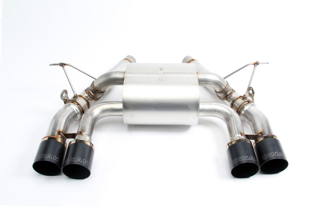 Dinan Free Flow Stainless Exhaust With Polished Tips For Bmw F80 M3 F Habberstad Motorsport