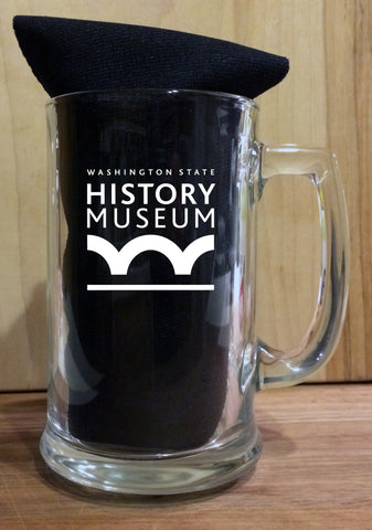 Steins, Vines, and Grinds Beer Mug - Washington State Historical Society - 1