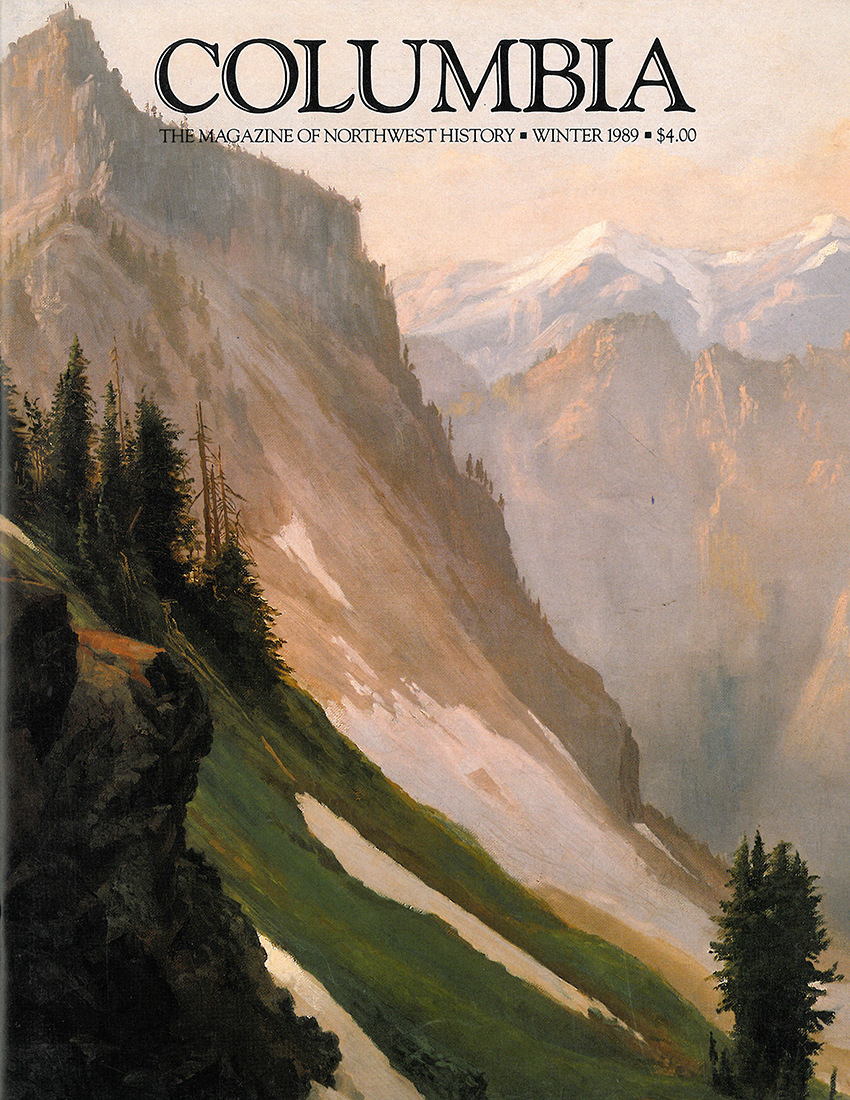 COLUMBIA: Winter 1988–89 – Vol. 2, No. 4 - Washington State Historical Society