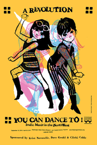 A Revolution You Can Dance to Poster by Art Chantry - Washington State Historical Society