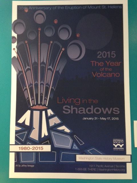 Living in the Shadows poster - Washington State Historical Society