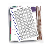 Volleyball Stickers for Planner, Functional Planner Stickers, School Stickers, Calendar Stickers, Perfect For Erin Condren Planner:  SQ-25
