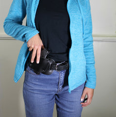 OWB belt holster for women by Concealed Carry Wear