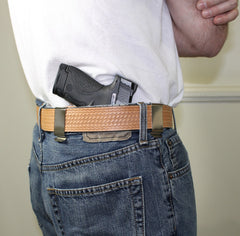 Gun belt for IWB holster