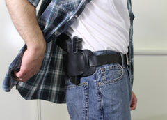 Leather Gun Holsters by Concealed Carry Wear - the Bull