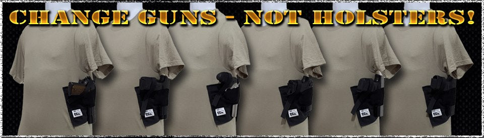 Shirt Holster will fit any gun you own!