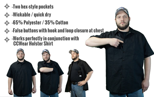 Tactical shirt by Concealed Carry Wear, USA