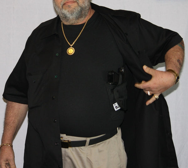 Concealed carry clothing big and tall holster shirts for Dress shirts for big and tall