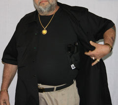 Mens Big and Tall Holster Shirts - Concealed Carry Wear  - 3