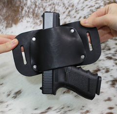 "OWB Holster ""The Bull"" Model Belt Holster - Concealed Carry Wear  - 2"
