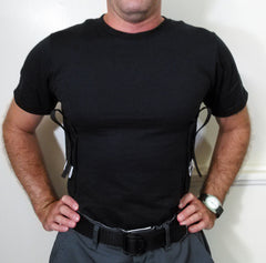 Dual Gun Holster Shirt - Concealed Carry Wear  - 3