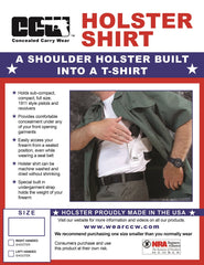 Mens Big and Tall Holster Shirts - Concealed Carry Wear  - 6