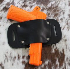 "OWB Holster ""The Bull"" Model Belt Holster - Concealed Carry Wear  - 5"