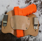 "IWB Holster ""The Bison"" Model - Concealed Carry Wear  - 9"