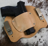 "IWB Holster ""The Bison"" Model - Concealed Carry Wear  - 4"