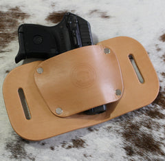 "OWB Holster ""The Bobcat"" Model for Micro Pistols - Concealed Carry Wear  - 1"