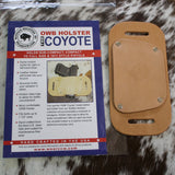 "OWB Holster ""The Coyote"" Model Belt Holster - Concealed Carry Wear  - 7"