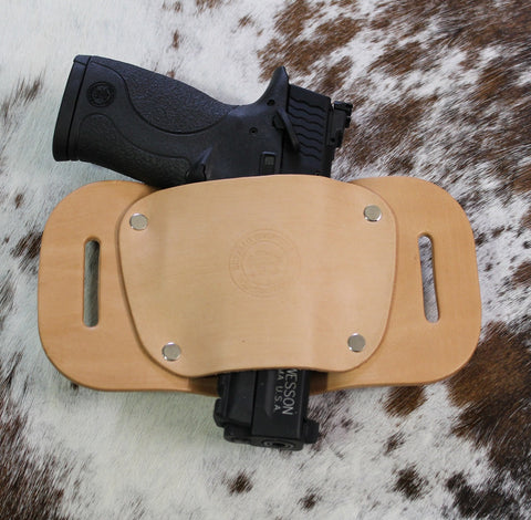 "OWB Holster ""The Coyote"" Model Belt Holster - Concealed Carry Wear  - 1"