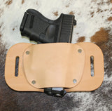 """The Coyote"" Belt Holster - Concealed Carry Wear  - 3"