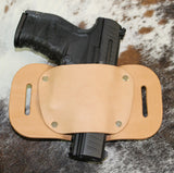 "OWB Holster ""The Coyote"" Model Belt Holster - Concealed Carry Wear  - 4"