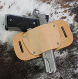 "OWB Holster ""The Coyote"" Model Belt Holster - Concealed Carry Wear  - 3"