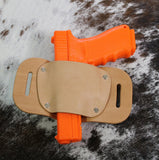 "OWB Holster ""The Coyote"" Model Belt Holster - Concealed Carry Wear  - 6"