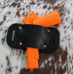 "OWB Holster ""The Bull"" Model Belt Holster - Concealed Carry Wear  - 9"