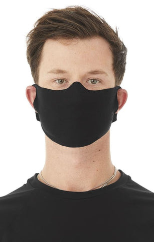 Face Mask Black (Pack of 3) / Cloth Face Cover