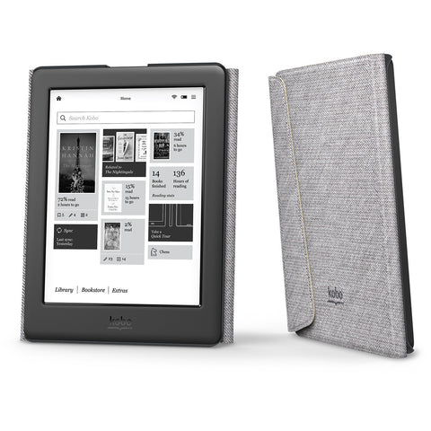 SleepCover pour Kobo Glo HD/Touch 2.0 - Crème