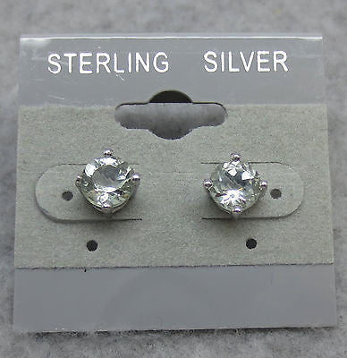 Prasiolite Green Amethyst 6mm Round Stud Earrings