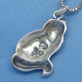 Sterling Silver Himalayan Cat Necklace -- p250514