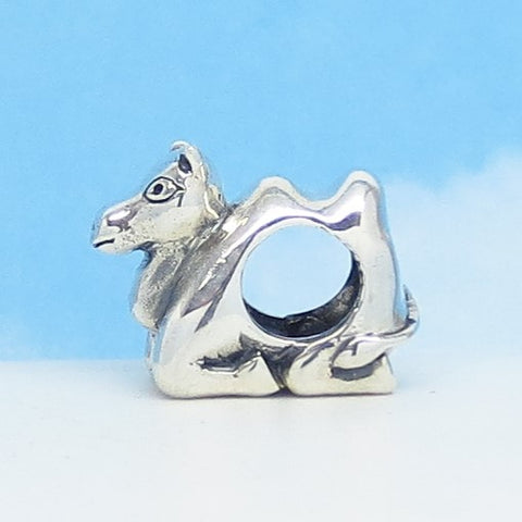 Camel European Charm Bead .925 Sterling Silver Fits Pandora Bracelets Euro Charm Hypoallergenic - Hump Day Mike Mike Mike Cute Charm 160746