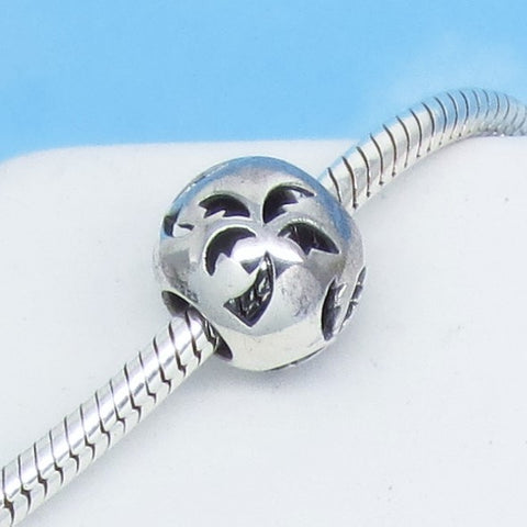 Palm Tree 925 Sterling Silver European Charm Bead Fits Pandora Bracelets Euro Charm - Tropical - Hawaii - Ships from USA - 280766